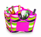Picnic Plus Louella Foldable Cooler Wavy Watermelon