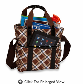 Picnic Plus Main Liner Hybrid Tote Saddle Plaid