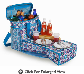 Picnic Plus Merritt Cooler Bag Sea Glass