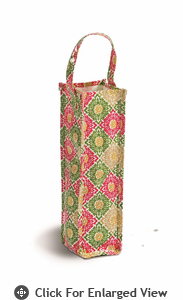Picnic Plus Moxie Wine Tote  Green Gazebo