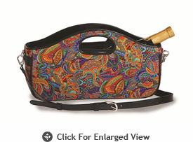 Picnic Plus Nola Wine Clutch Jewel Paisley