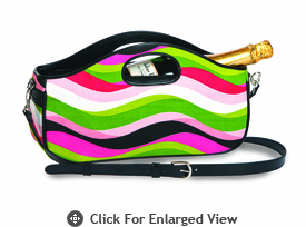 Picnic Plus Nola Wine Clutch Wavy Watermelon