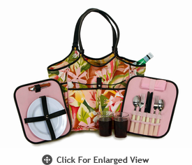 Picnic Plus Palmetto 2 Person Picnic Tote Floral