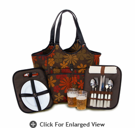 Picnic Plus Palmetto 2 Person Picnic Tote Tapestry