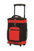 Picnic Plus Partytime Rolling Cooler  Black/Red
