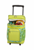 Picnic Plus Partytime Rolling Cooler  Green Paisley
