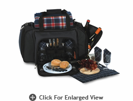 Picnic Plus Quattro 4 Person Picnic Duffle Navy