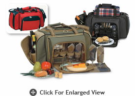 Picnic Plus Quattro 4 Person Picnic Duffles