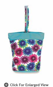Picnic Plus Razz Lunch Tote  Blue Blossom
