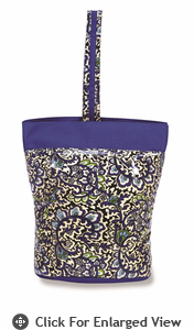 Picnic Plus Razz Lunch Tote  English Paisley