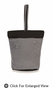 Picnic Plus Razz Lunch Tote  Houndstooth