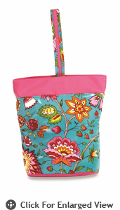 Picnic Plus Razz Lunch Tote  Madeline Turquoise