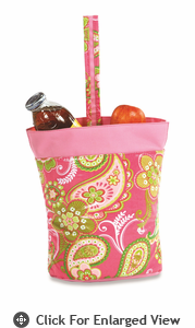 Picnic Plus Razz Lunch Tote  Pink Desire