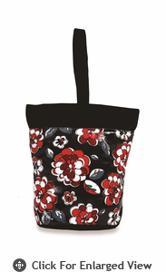 Picnic Plus Razz Lunch Tote  Red Carnation