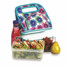Picnic Plus Savoy Lunch Bag  Blue Blossom