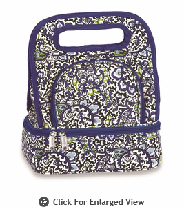 Picnic Plus Savoy Lunch Bag  English Paisley