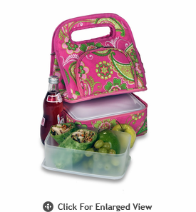 Picnic Plus Savoy Lunch Bag Pink Desire
