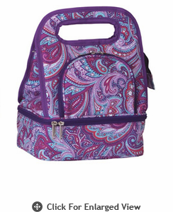 Picnic Plus Savoy Lunch Bag Purple Envy
