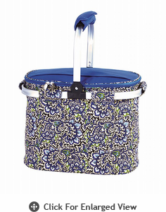 Picnic Plus Shelby Collapsible Market Tote  English Paisley