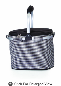 Picnic Plus Shelby Collapsible Market Tote Houndstooth