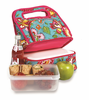 Picnic Plus Shelby Collapsible Market Tote  Madeline Turquoise