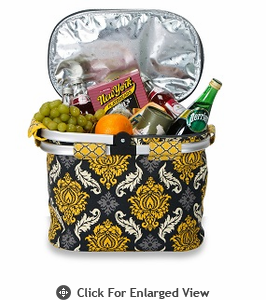 Picnic Plus Shelby Collapsible Market Tote Provence Flair