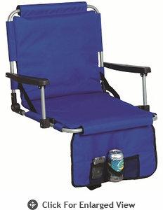 Picnic Plus Stadium Seat Royal Blue Out of Stock