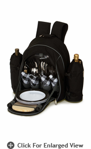 Picnic Plus Stratton 4 Person Picnic Backpack Black Out of Stock until 12/12/13