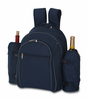 Picnic Plus Stratton 4 Person Picnic Backpack Navy