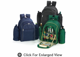 Picnic Plus Stratton 4 Person Picnic Backpacks