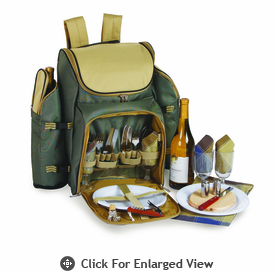 Picnic Plus Tandoor 4 Person Picnic Backpack Sage