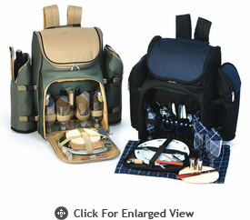 Picnic Plus Tandoor 4 Person Picnic Backpacks