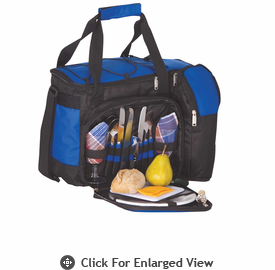 Picnic Plus Tango 2 Person Picnic Tote Royal Blue