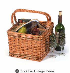 Picnic Plus Tivoli Insulated Wine Basket