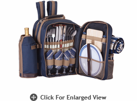 Picnic Plus Tremont 4 Person Picnic Backpack Navy Out of Stock until 12/12/13