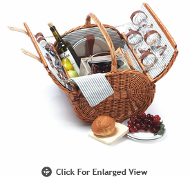 Picnic Plus Westport 4 Person Picnic Basket Out of Stock until 11/14/13