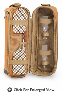 Picnic Plus Wine Duffle Brown