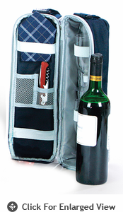 Picnic Plus Wine Duffle Navy