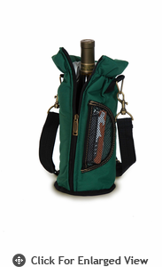 Picnic Plus Wine Pouch Green