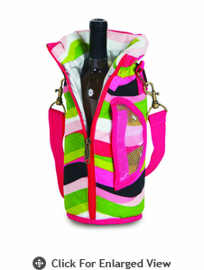 Picnic Plus Wine Pouch Wavy Watermelon