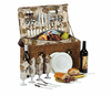 Picnic Plus Woodstock 4 Person Picnic Basket Fern Lining