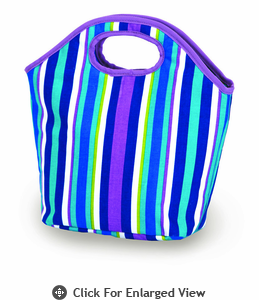 Picnic Plus Zesty Lunch Bag Lavender Stripe