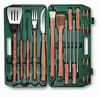 Picnic Time�18 Piece BBQ Set Hunter Green
