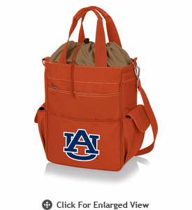 Picnic Time Activo Cooler Tote  Auburn University Tigers Orange
