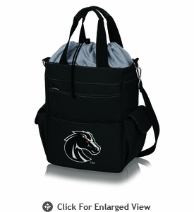 Picnic Time Activo Cooler Tote  Boise State Broncos Black w/ Grey
