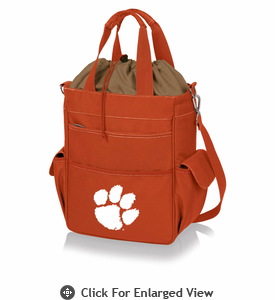 Picnic Time Activo Cooler Tote  Clemson University Tigers Orange