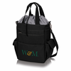 Picnic Time Activo Cooler Tote  College of William & Mary Griffin Black w/ Grey