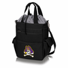 Picnic Time Activo Cooler Tote  East Carolina Pirates Black w/ Grey