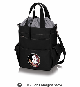 Picnic Time Activo Cooler Tote  Florida State Seminoles Black w/ Grey