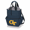 Picnic Time Activo Cooler Tote  Georgia Tech Yellow Jackets Navy Blue